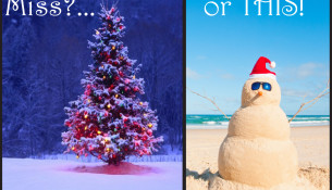 christmas in winter versus summer
