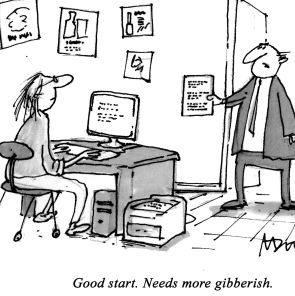 Copywriter cartoon