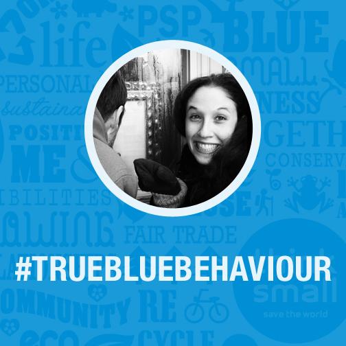 True Blue, True Blue behaviour, helping the community