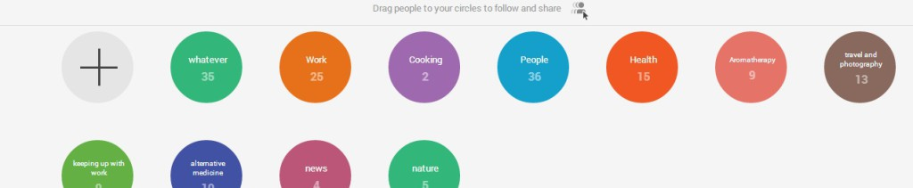 Adding Google+ users to your circles