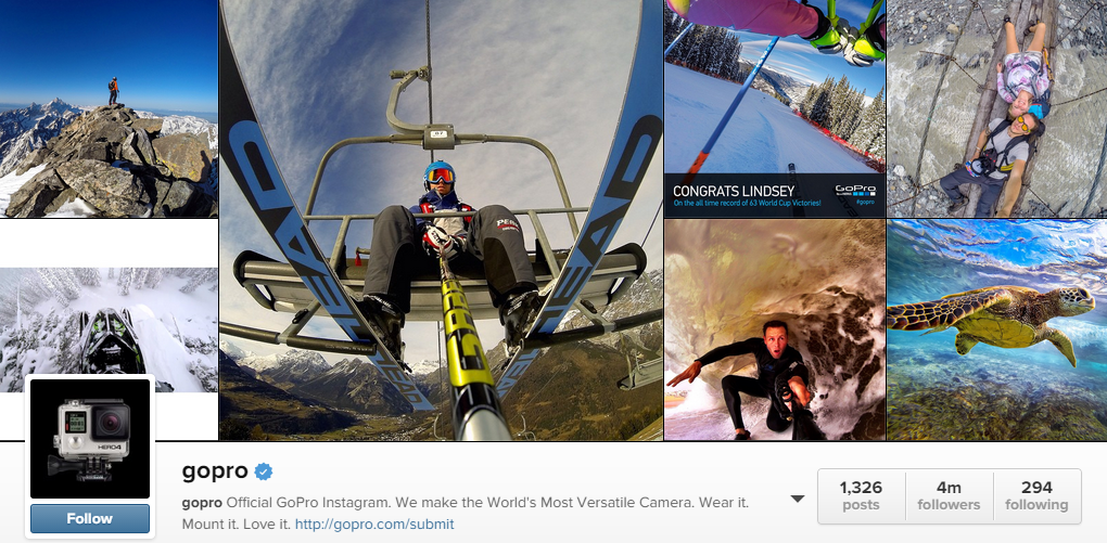 Check out GoPro on Instagram