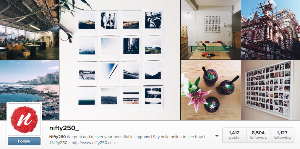The Nifty250 Instagram page