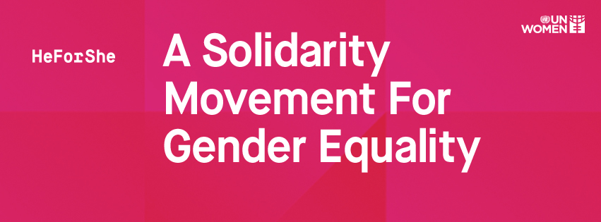H for She solidarity movement