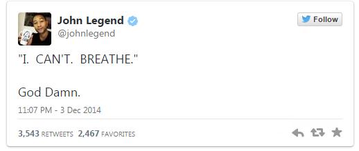John Legend I can't breathe