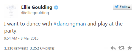 Ellie Goulding Finding dancing man