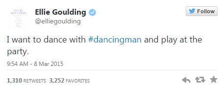 Ellie Goulding Finding dancing man