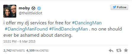 Moby Finding Dancing Man