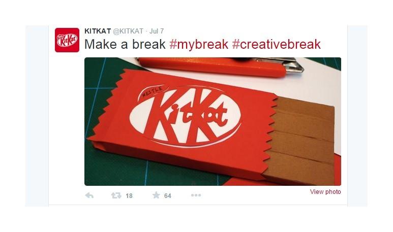 Kit Kat my break