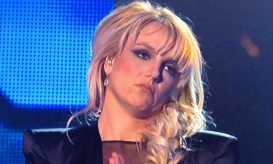Britney Spears sad face