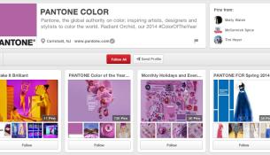 Pantone Color Pinterest Boards