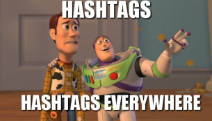 What hashtags should you use online